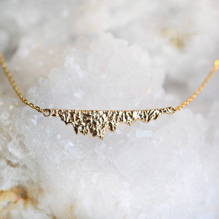 Vista Necklace - Gold