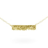 Coastline Necklace - 14k Yellow Gold
