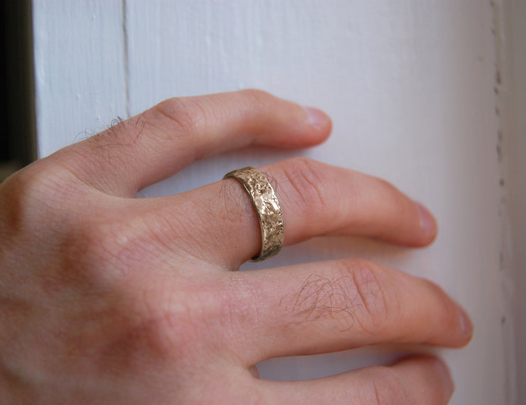*Swell Band - 14k Gold