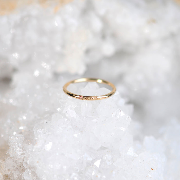 Moon Dust Ring - Gold