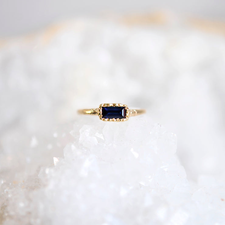 Midnight Cascade Ring