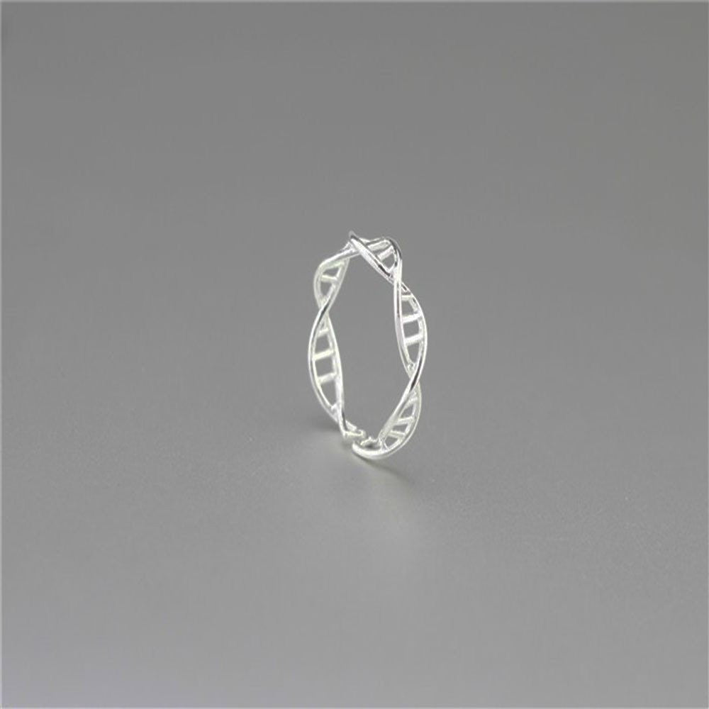Sterling Silver 925 DNA Ring-Necklace-Orizzon Store