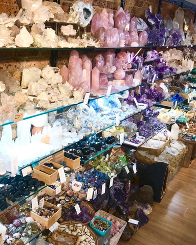 Crystal shop in Glebe, Sydney  Fossils, Opals, Minerals