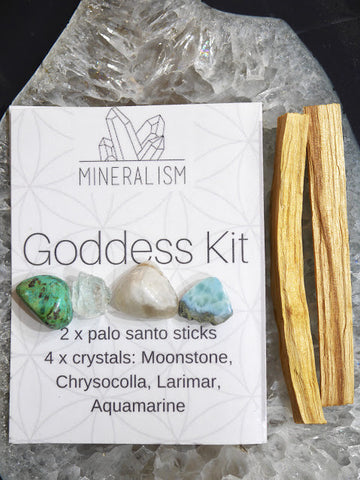 Goddess Kit - crystal pack