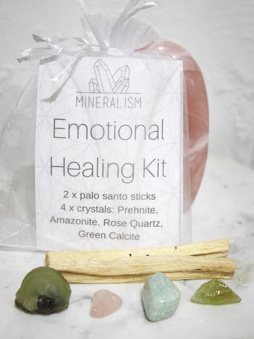 Emotional Healing  Kit - crystal pack
