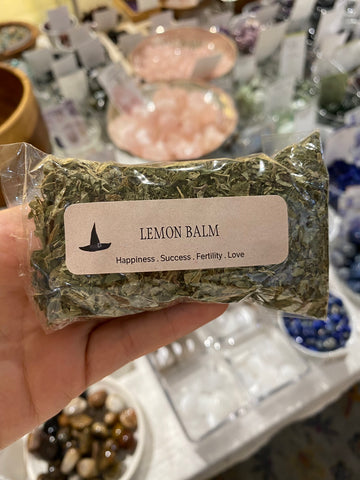 lemon balm bag