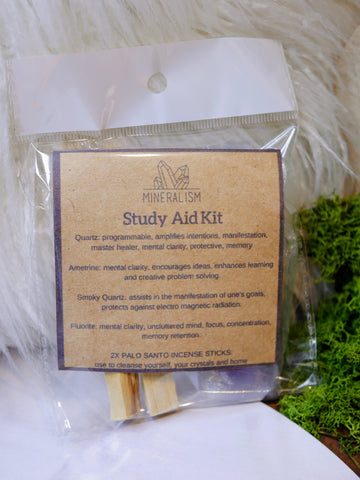 Study Aid Kit - crystal pack