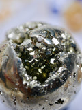 pyrite cluster sphere 109g