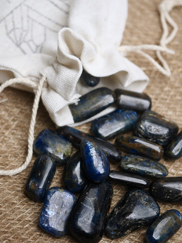 Blue Kyanite Tumbled Stone