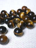 Mini Tiger Eye spheres