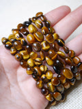 Tiger Eye pebble bracelet