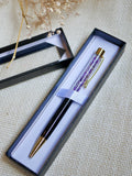 Amethyst Pen With Gift Box