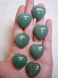 Aventurine mini heart