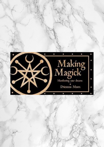 Making Magick Affirmation Cards
