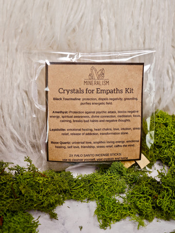 Crystals for empaths kit