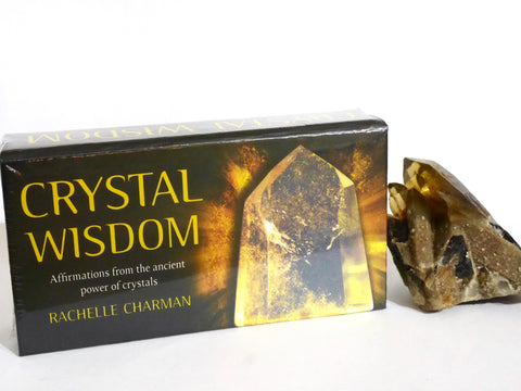 Crystal Wisdom Affirmation Cards