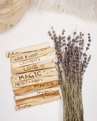 Palo Santo intention stick