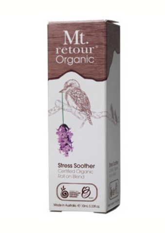 Stress Soother Certified Organic Roll On Blend 10ml