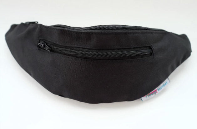 Classic Black Fanny Pack for Hallowee