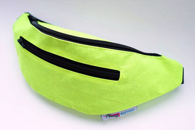 Neon Green Fanny Pack for Halloween and Other Holidays