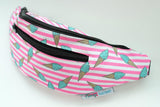 Pink and Blue Ice Cream Fanny Pack by Fanny Factory