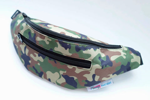 Camo Fanny Pack by Fanny Factory