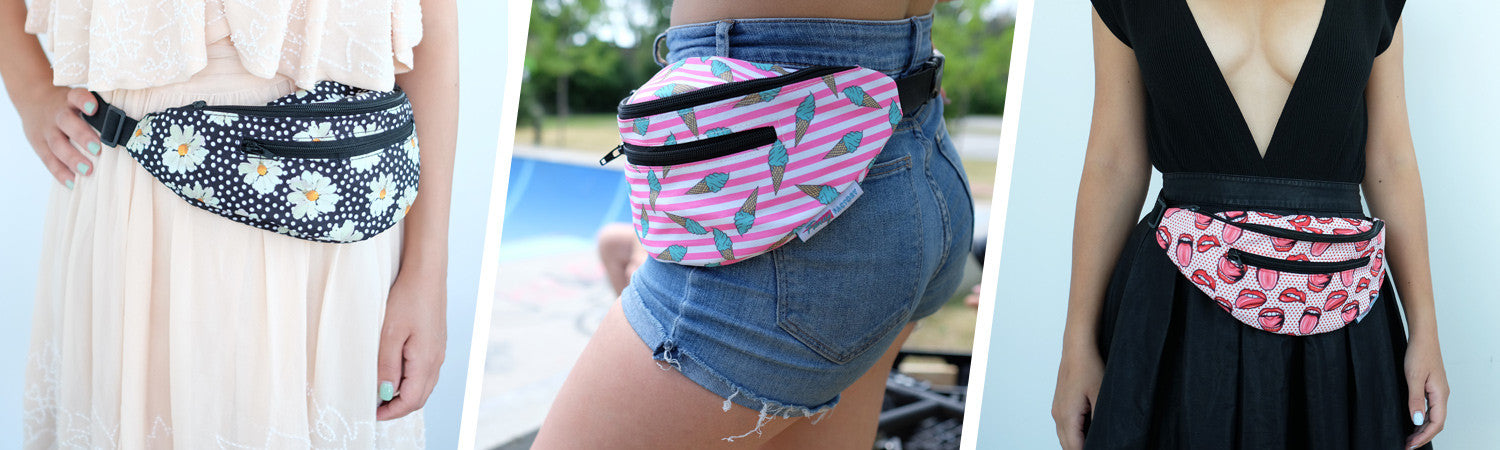 Fanny Factory - Cute, Fun, Cool Fanny Packs in tons of different styles