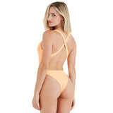 The Charlie Suit in Just Peachy