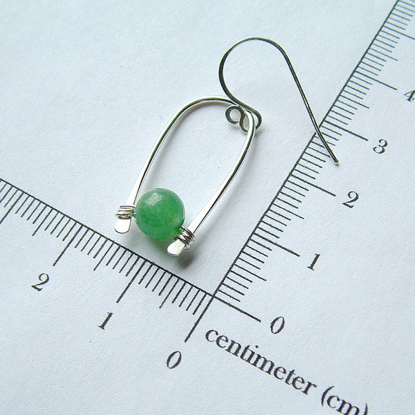 green earring measurement