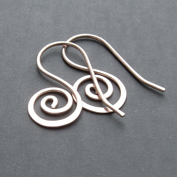 solid sterling silver earring