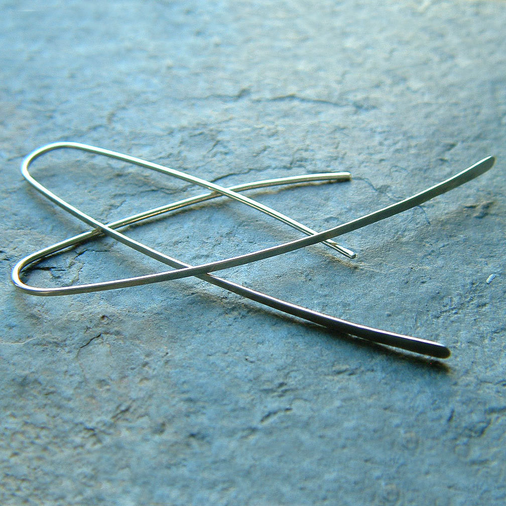 long wishbone earrings
