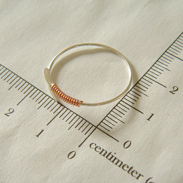 mixed metal hoop measurement