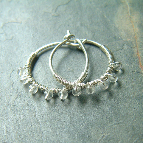 small wire wrap hoops