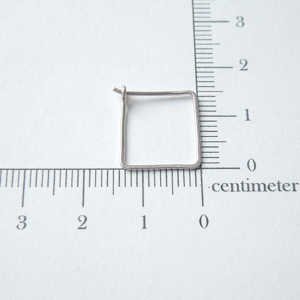 square hoop measurement