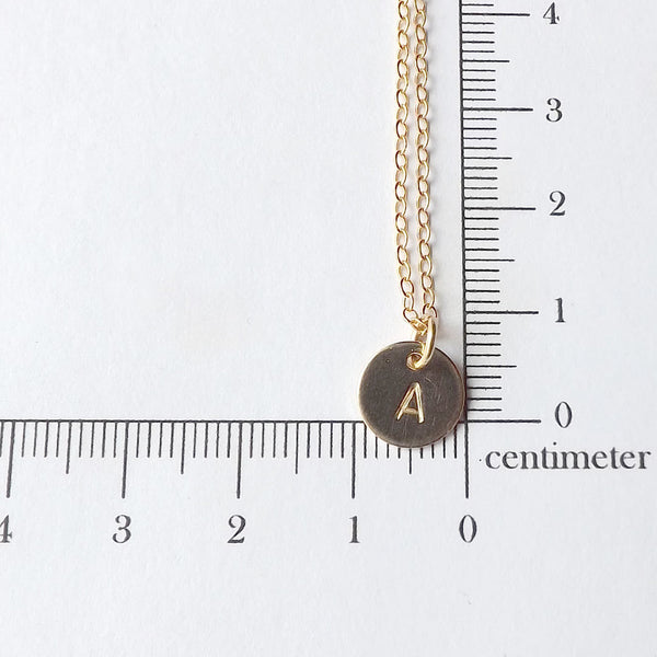 Gold Initial Necklace, Personalized for you