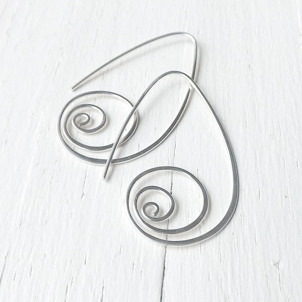 unfurled earrings