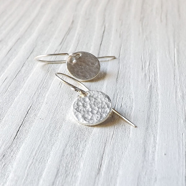 round charm earring