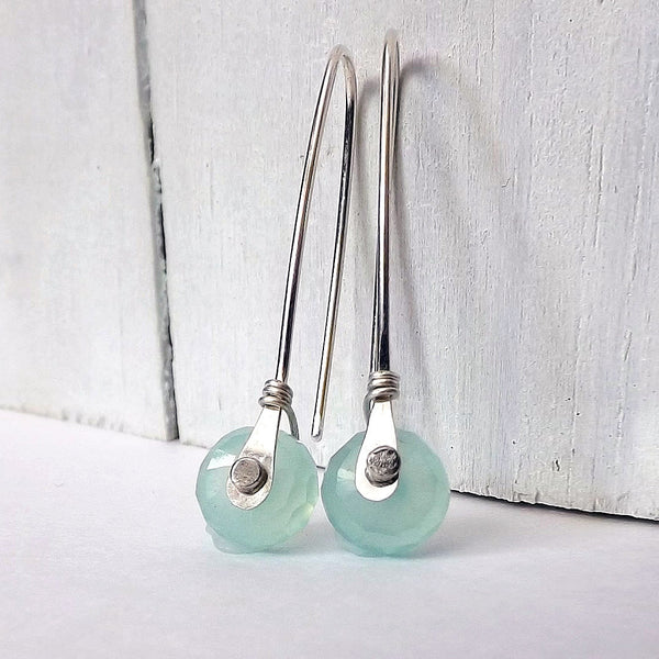 rivet earrings