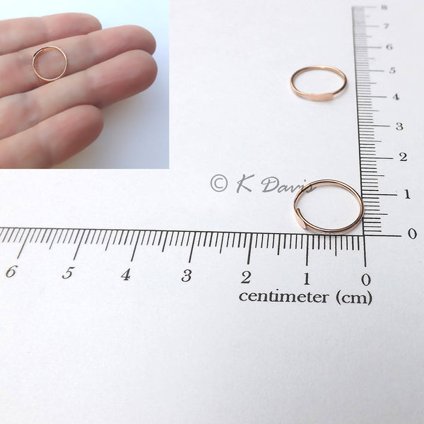 half inch hoop measurement