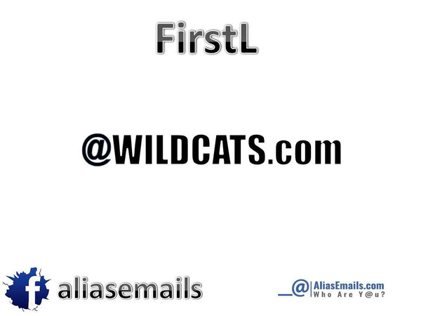 Choose your Alias Email Address @Wildcats.com