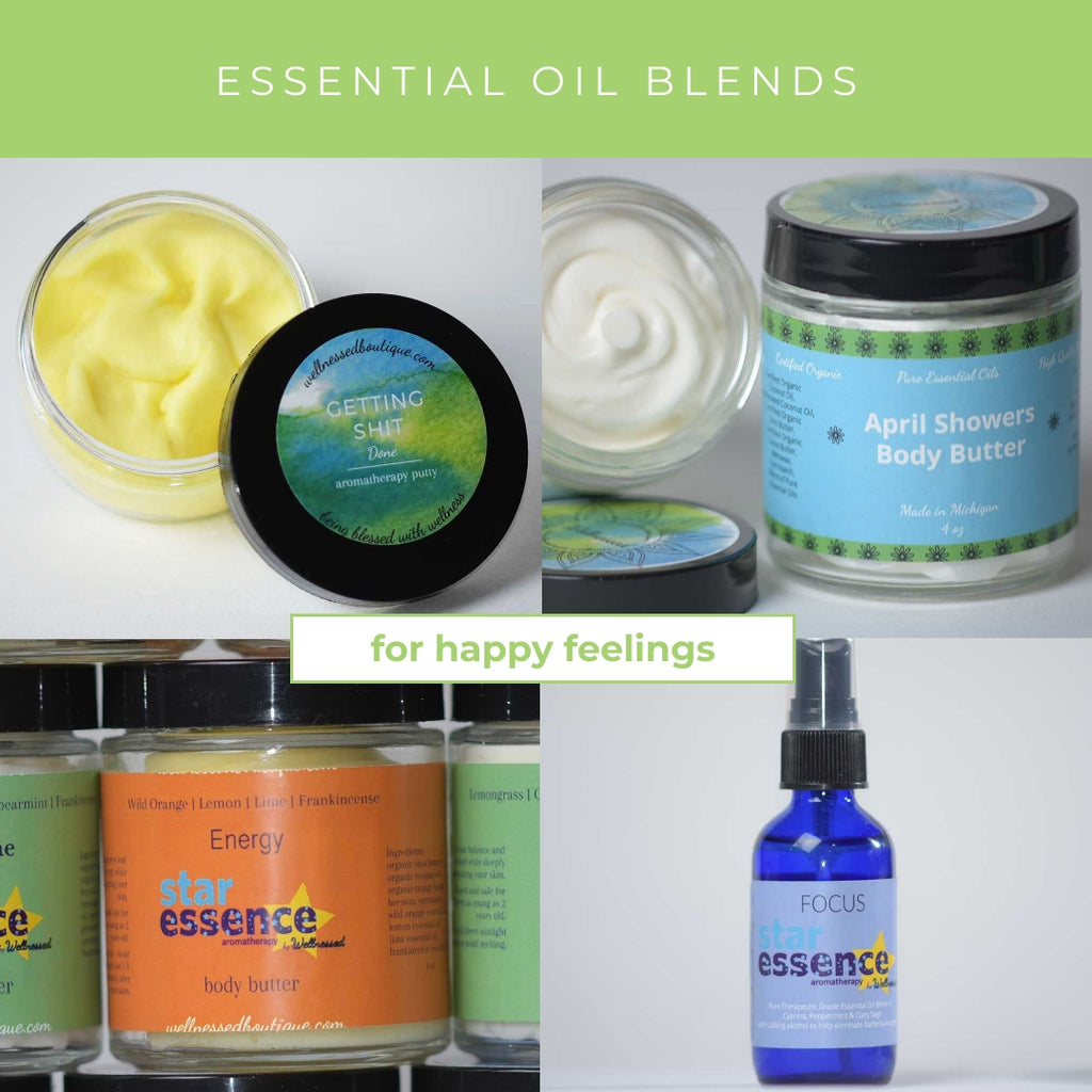 Essential Oil Blends for Happy and Positive Emotions