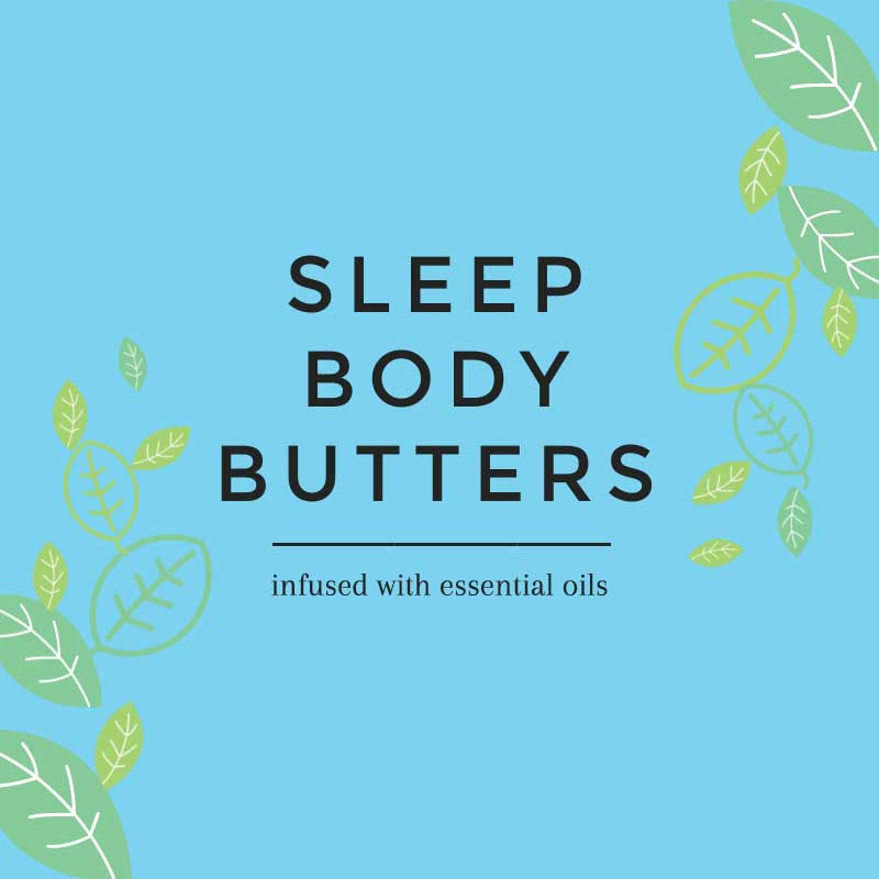 Sleep Body Butters for a Peaceful Night of Rest