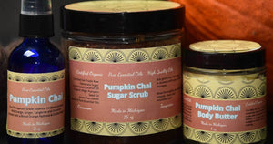 Pumpkin Chai Aromatherapy Blend Fall Collection