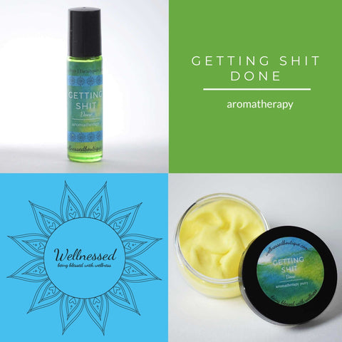 Getting Shit Done Essential Oil Blend
