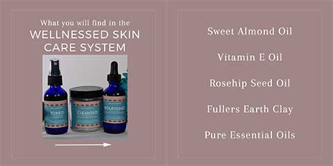 Wellnessed All Natural Skin Care