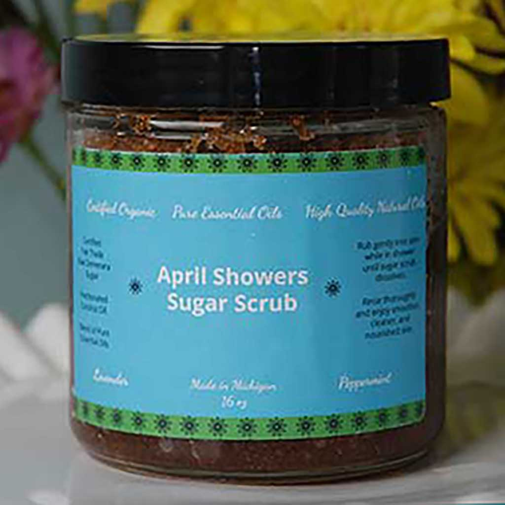 April Showers Sugar Scrub