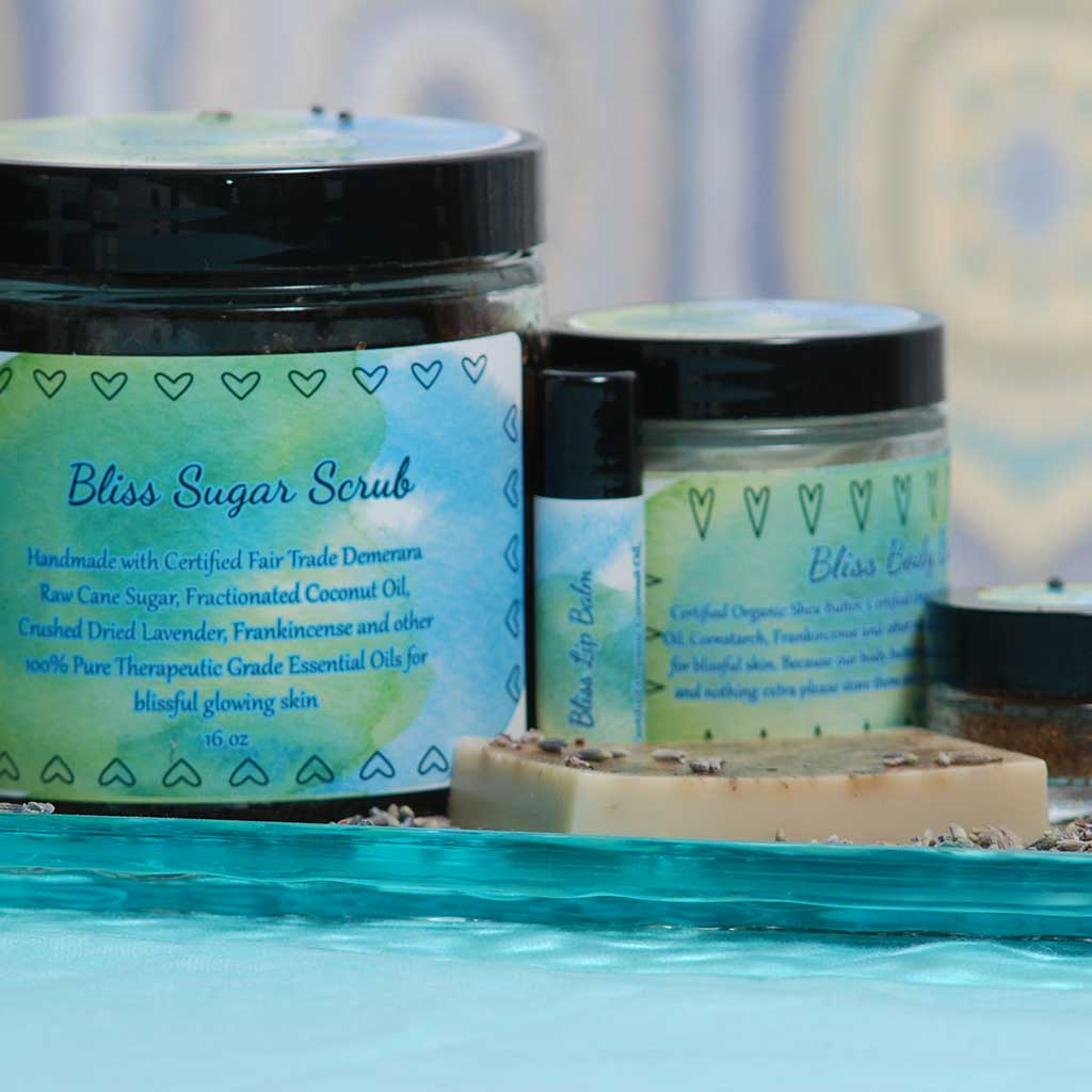 Bliss Organic Skin Care Gift Set