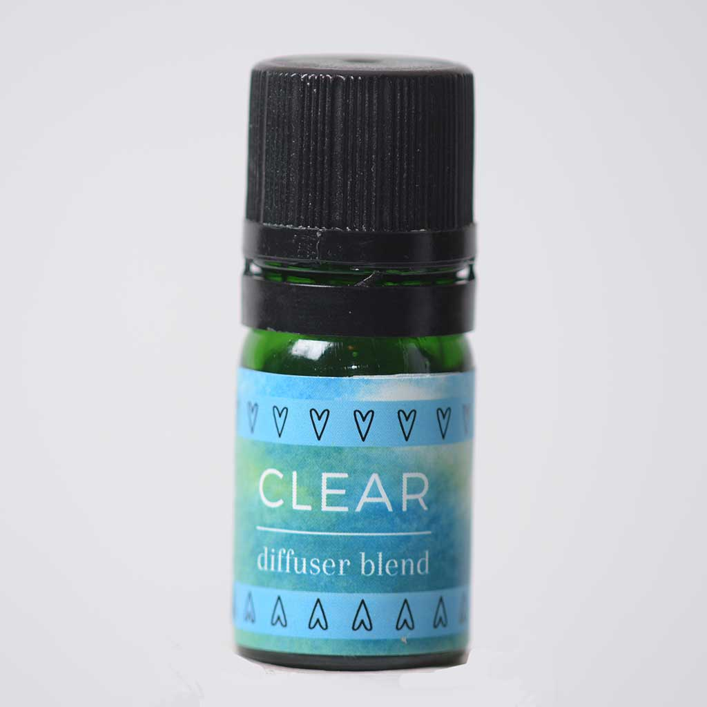 Lemon + Eucalyptus Essential Oil CLEAR Diffuser Blend