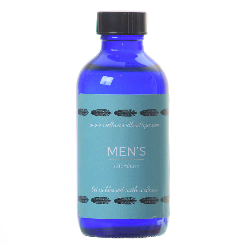 Patchouli + Frankincense Essential Oil Men's AfterShave