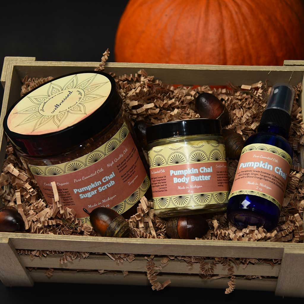 Pumpkin Chai Body Care Gift Set